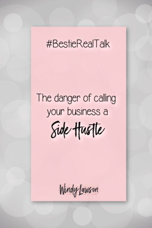 Do you really have a side hustle? If your goal is to turn your secondary source of income into your primary income, stop saying side hustle ASAP!