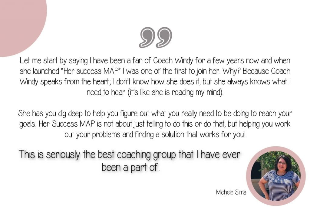 Her Success Map Member Testimonial Michele Sims