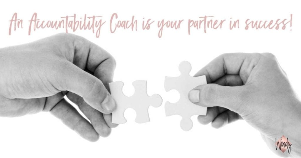 An accountability coach is your partner in success windy lawson