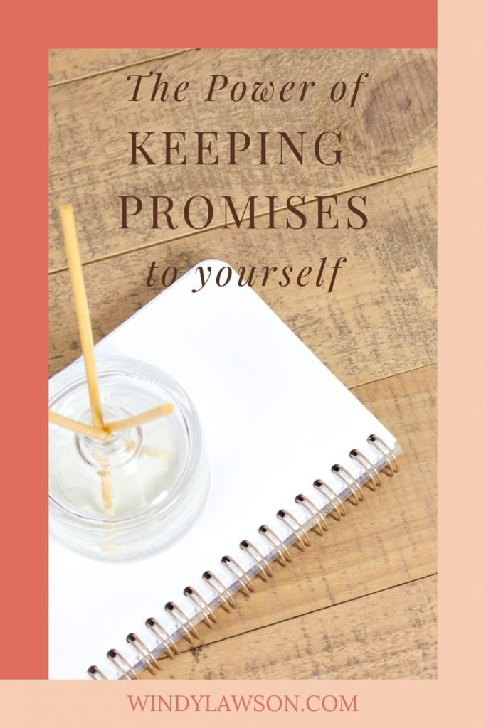 The Power of keeping promises Windy Lawson