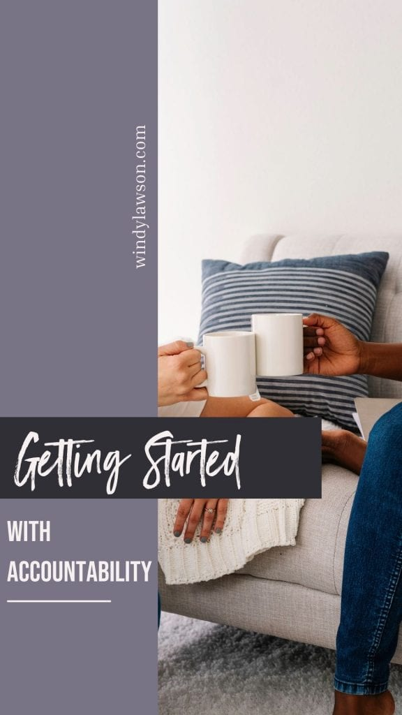 Getting started with accountability